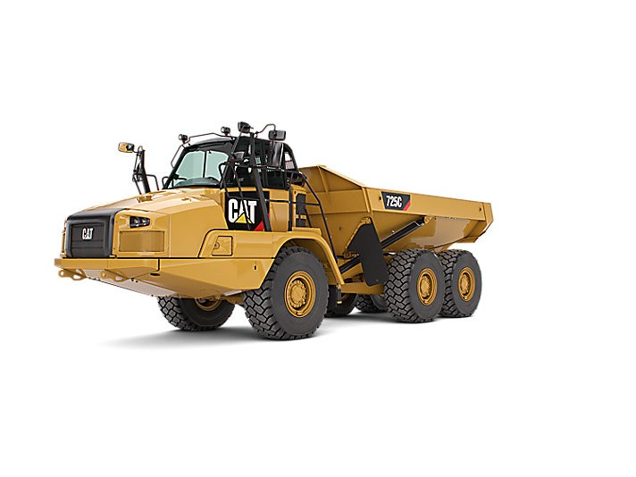 Caterpillar Inc. - 725C (Tier 4, Stage IV) Articulated Dump Trucks
