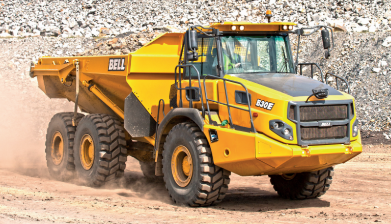 Bell Equipment (North America) - B30E Articulated Dump Trucks