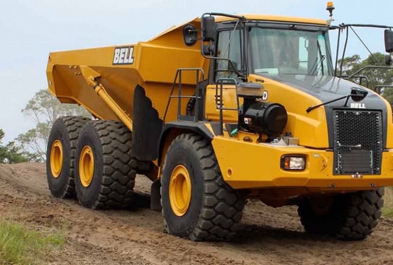 B35D Articulated Dump Trucks