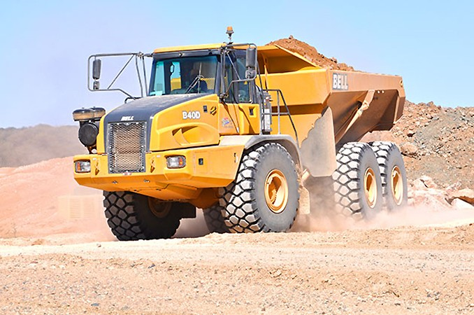 Bell Equipment (North America) - B40D Articulated Dump Trucks