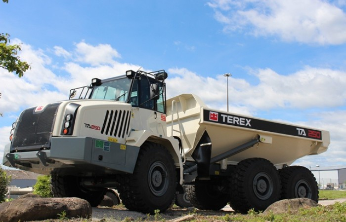 Terex Trucks - TA250 Articulated Dump Trucks