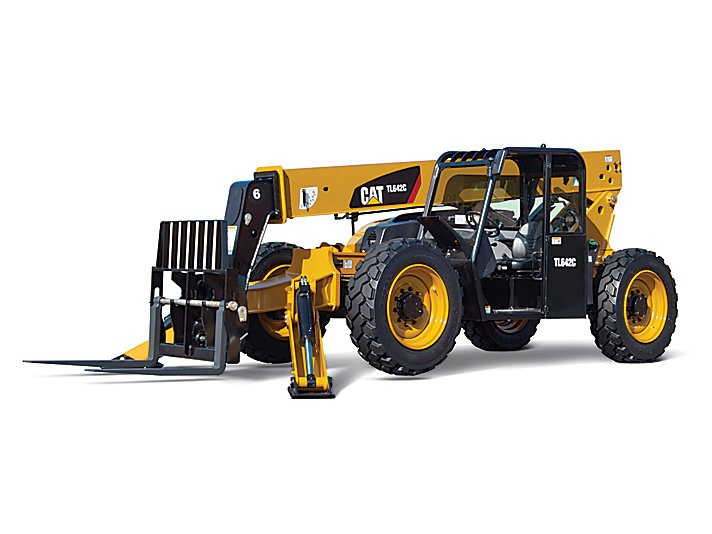 Caterpillar Inc. - TL642C With Stabilizers Telehandlers