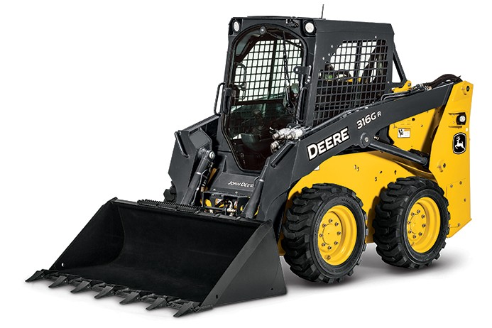 John Deere Construction & Forestry - 316GR Mini Skid Steer Loaders