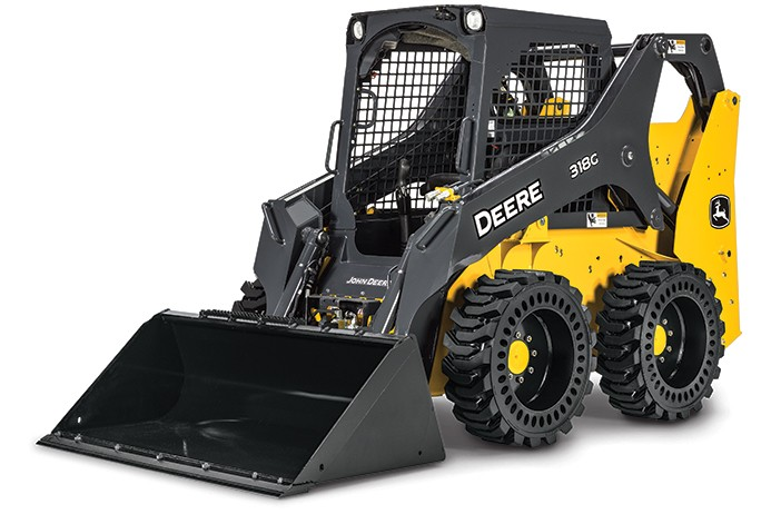 John Deere Construction & Forestry - 318G Mini Skid Steer Loaders