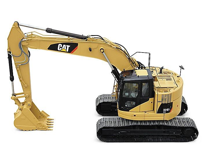 321D LCR Excavators
