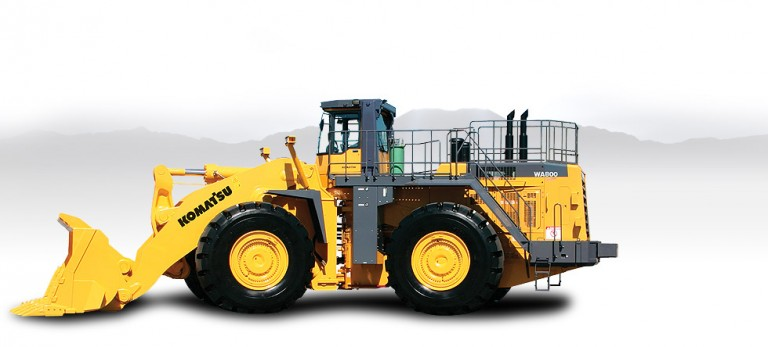WA800-3 Wheel Loaders