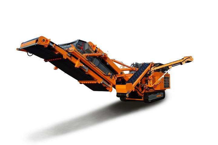 Rockster North America Inc. - R1100S Track Mounted Impact Crushers