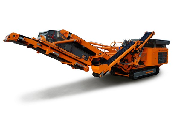 Rockster North America Inc. - R1100DS Track Mounted Impact Crushers