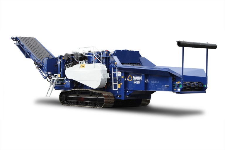 Peterson Pacific Corp - 6710D Horizontal Grinders