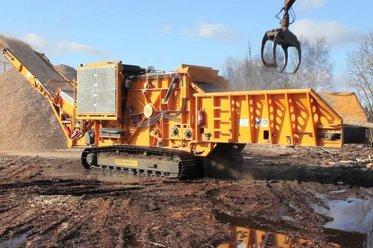 Terex Environmental Equipment - TBG660 Horizontal Grinders