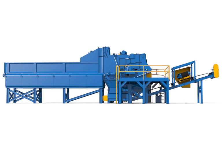 West Salem Machinery - WSM Titan Horizontal Grinder Horizontal Grinders