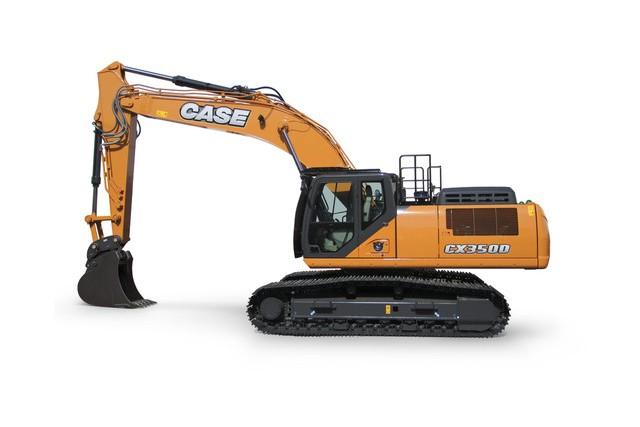 CX350D Excavators