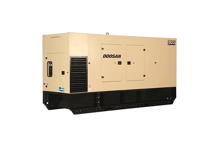 Doosan Portable Power - G500 Stage II Generators