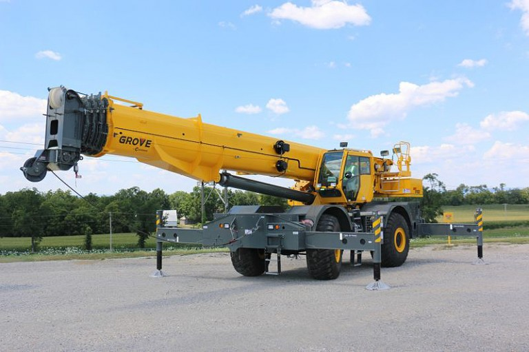 GRT8100 Rough Terrain Cranes