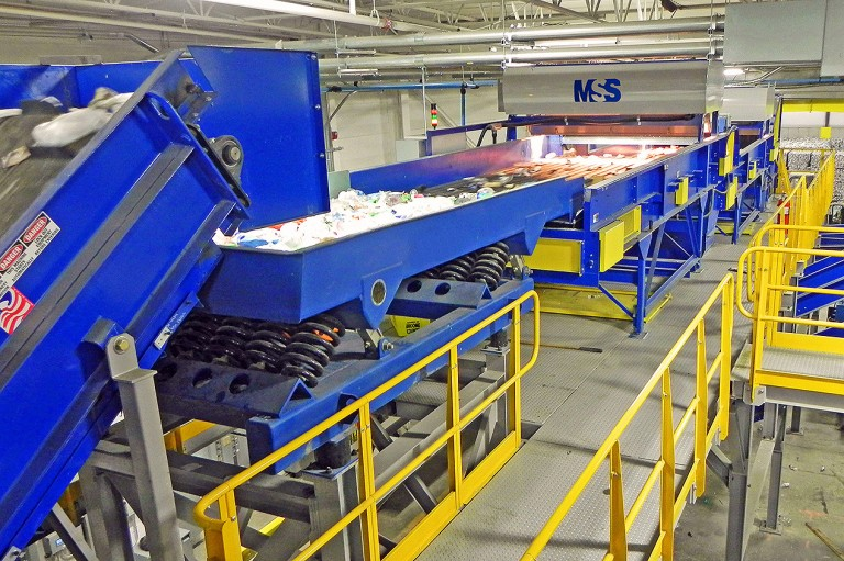 MSS, INC. - CIRRUS™ Recycling Sorting Systems