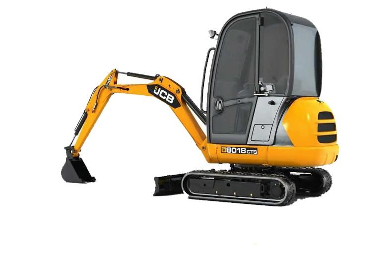 JCB Inc. - 8018 CTS Excavators