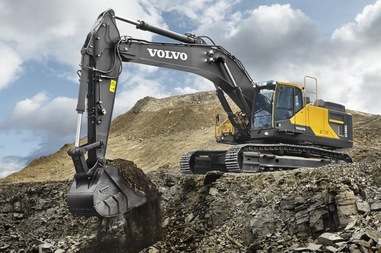 Volvo Construction Equipment - EC480E Excavators