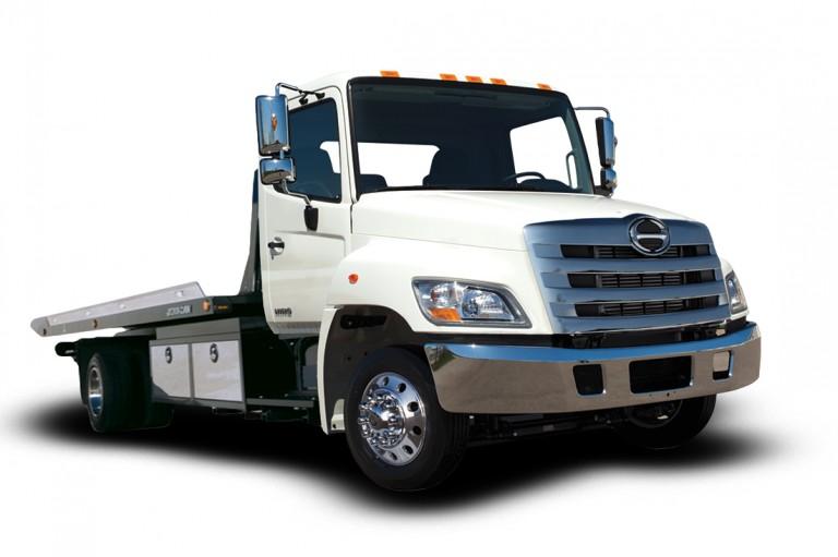 Hino 258LP Vocational Trucks