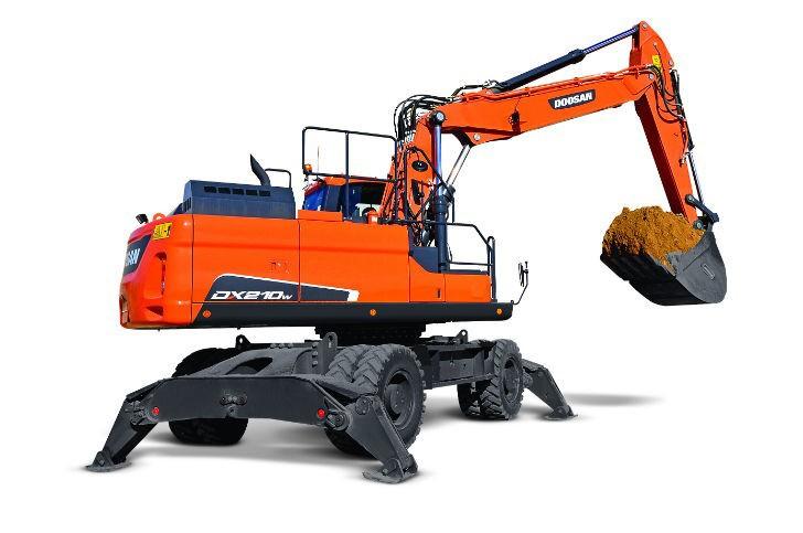 DX210W-5 Excavators