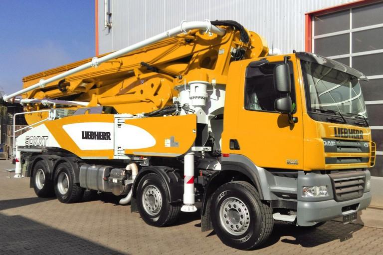 Liebherr - 50 M5 XXT Concrete Pump Trucks