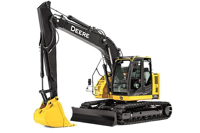 135G Excavators