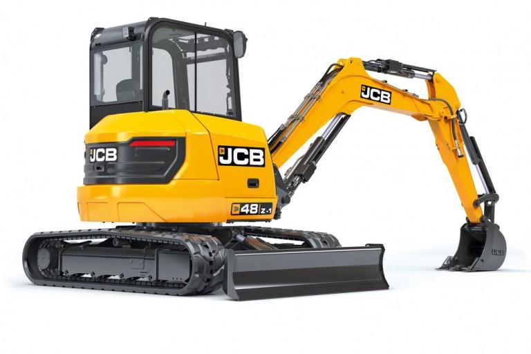 JCB Inc. - 48Z-1 Compact Excavators