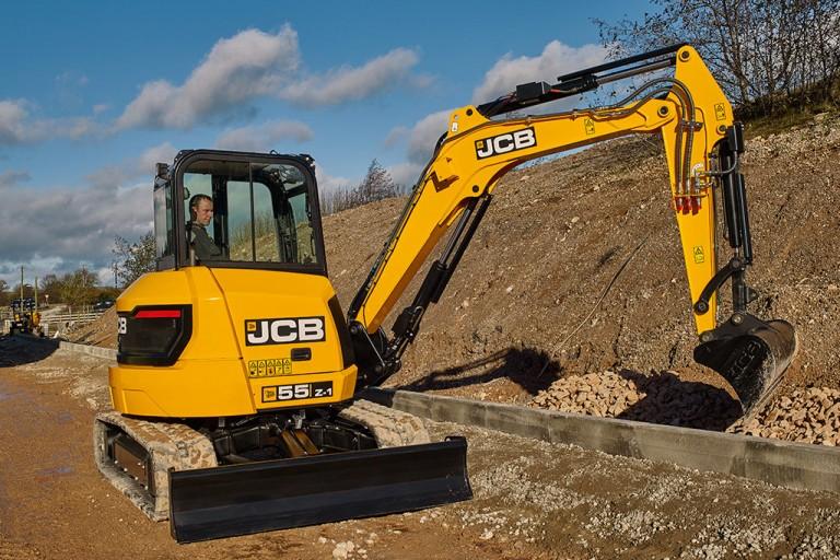 JCB Inc. - 55Z-1 Compact Excavators