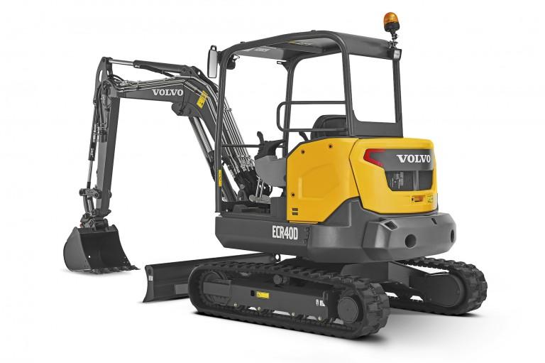 Volvo Construction Equipment - ECR40D Compact Excavators