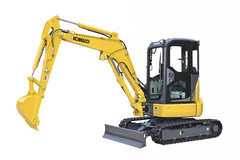 KOBELCO Construction Machinery USA - SK35SR Compact Excavators