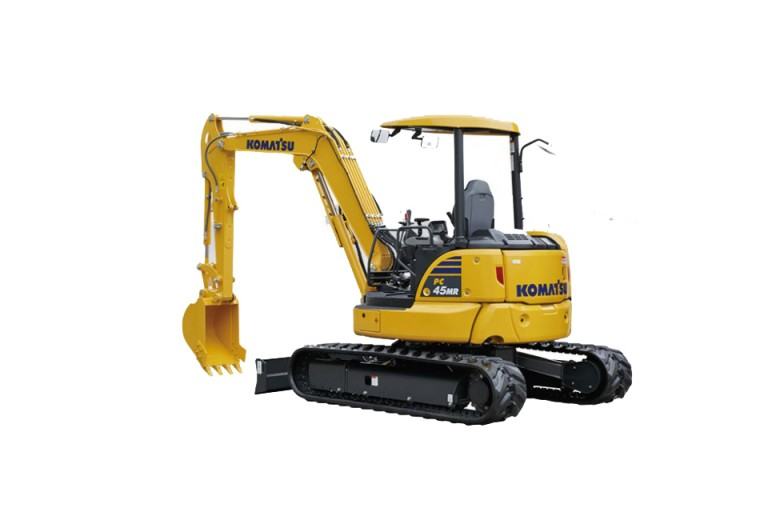 Komatsu America Corp. - PC45MR-5 Compact Excavators