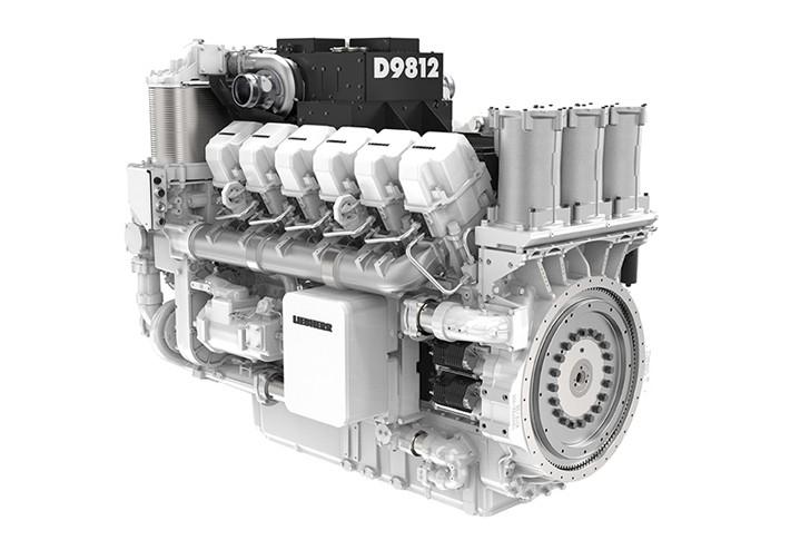 Liebherr - D9812 Diesel Engines