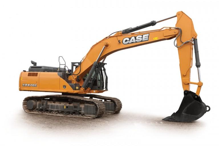 Case Construction Equipment - CX470C Excavators