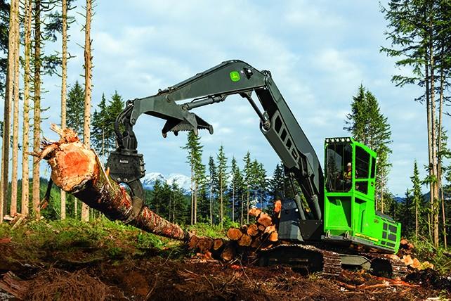 John Deere Construction & Forestry - 3156G Forestry Log Loaders