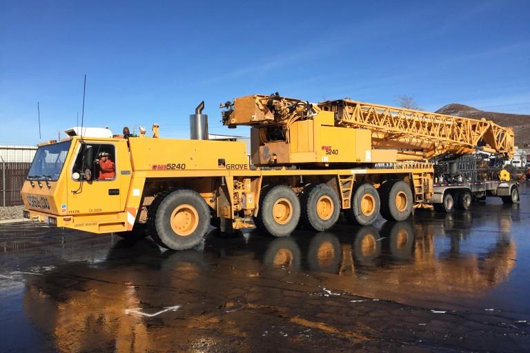 GMK 5240 Rough Terrain Cranes