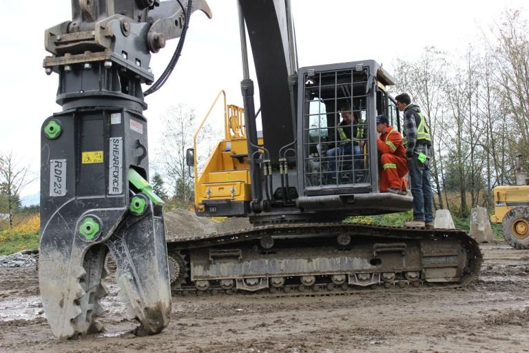 Shearforce Equipment Hosts Demo Day Heavy Equipment Guide