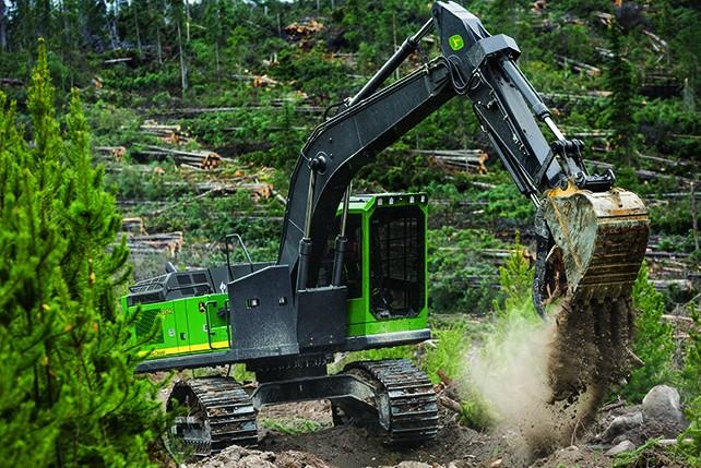 2654G Forestry Log Loaders