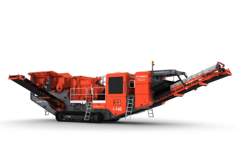 Terex Finlay - I-140 Track Mounted Impact Crushers