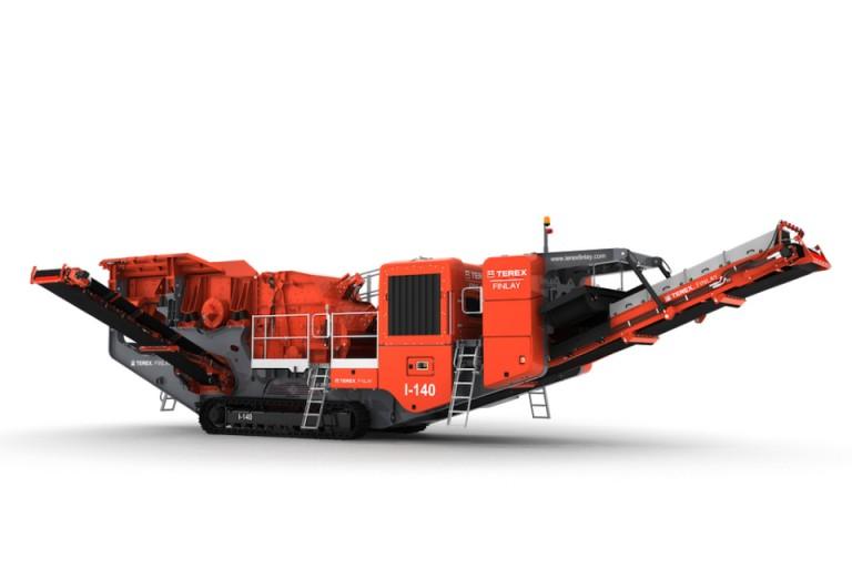 I-140 Track Mounted Impact Crushers