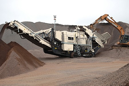 LV2050 Track Mounted Impact Crushers