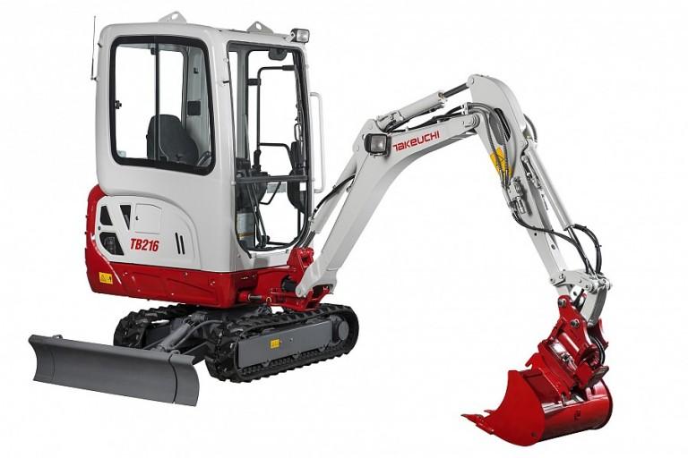 Takeuchi - TB216H Compact Excavators