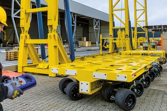 SPMT600 Hydraulic Lifting Systems