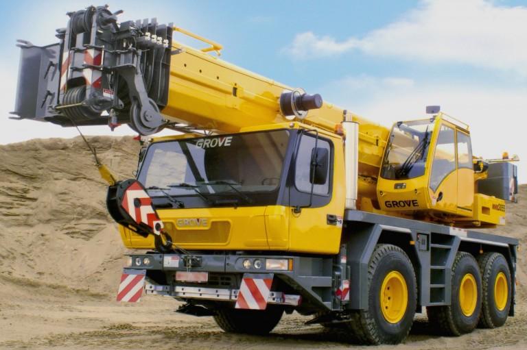 GMK3055 Mobile Cranes
