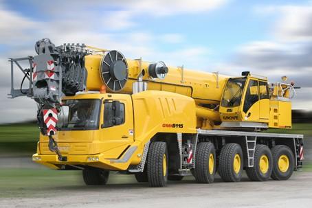 GMK5115 Mobile Cranes