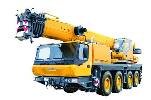 GMK4100B Mobile Cranes