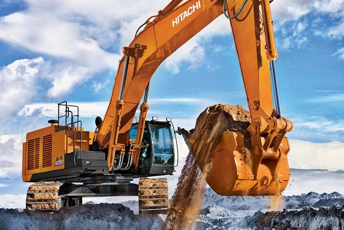 Hitachi Construction Machinery Co. - ZX670LC-6 Excavators