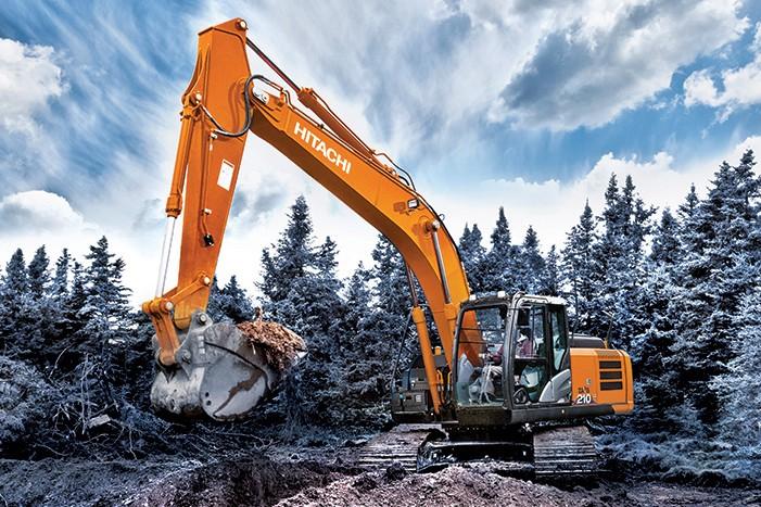 ZX210LC-6 & ZX210-6 Excavators