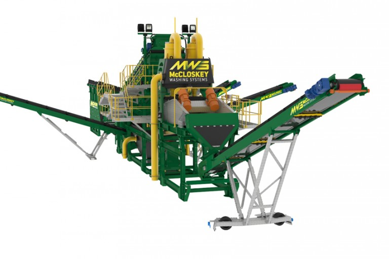 McCloskey Washing Systems - SandStorm™ 516 Sand & Aggregates Washing plants