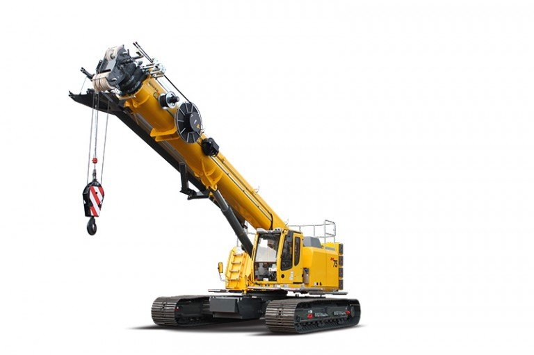 GHC75 Telescopic Crawler Cranes