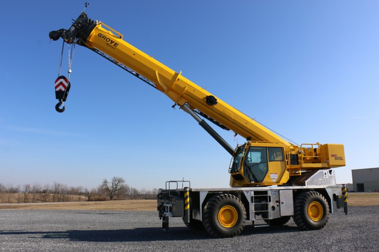 GRT655 Rough Terrain Cranes