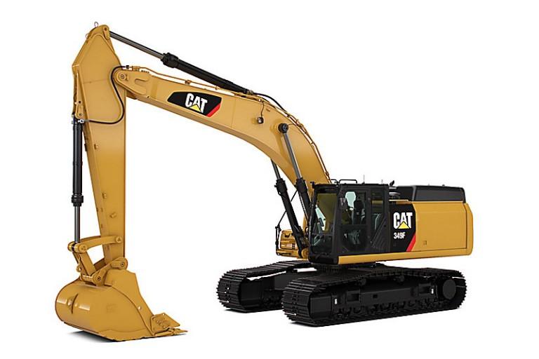 349F Excavators
